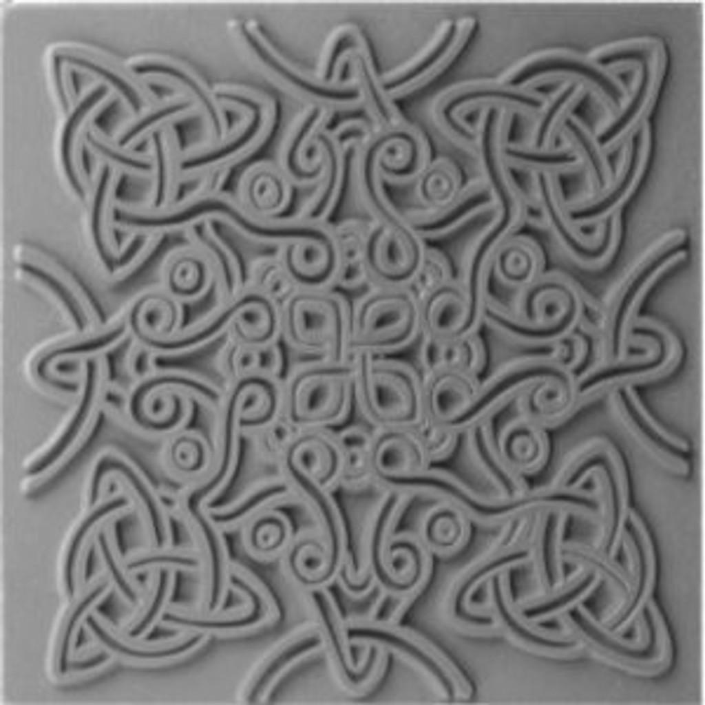 Cernit Texture Plate Celtic Knot