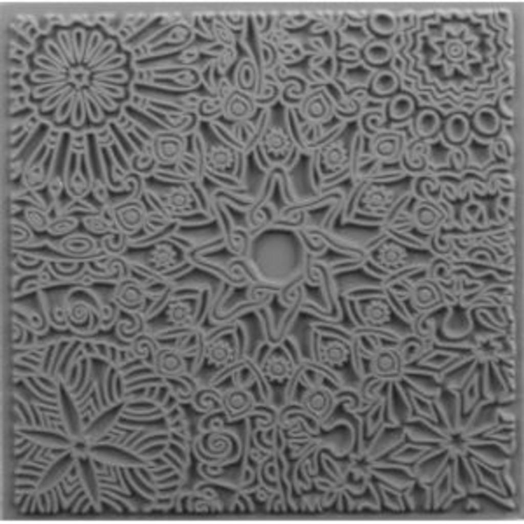 Cernit Texture Plate Mandala
