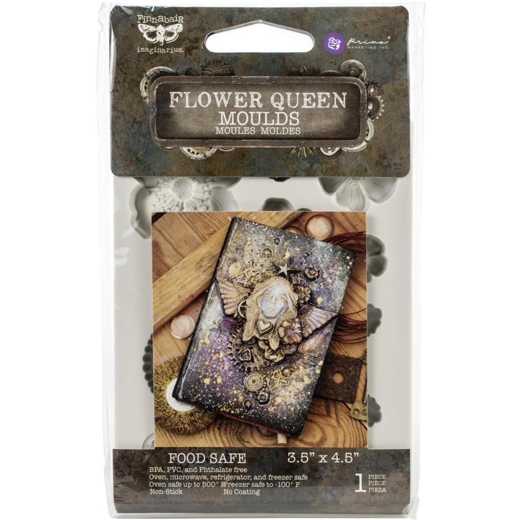 """Flower Queen Finnabair Decor Moulds 3.5""""X4.5"""""""
