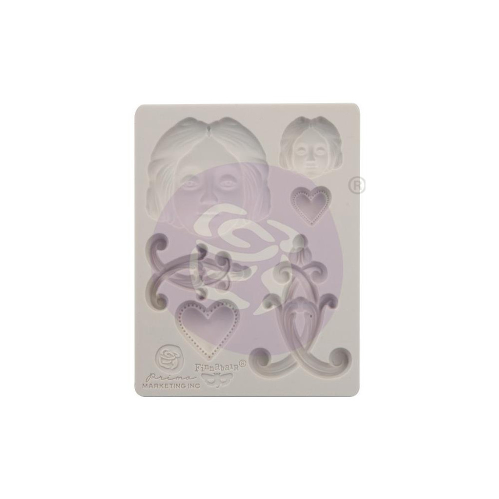 """Anabelle Finnabair Decor Moulds 3.5""""X4.5"""""""