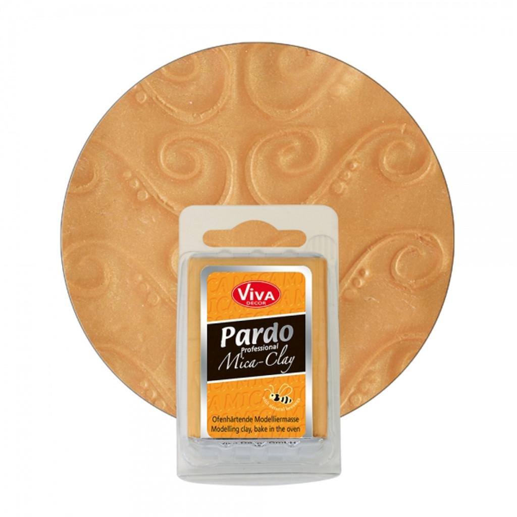 Pardo Professional Mica Clay - Gold
