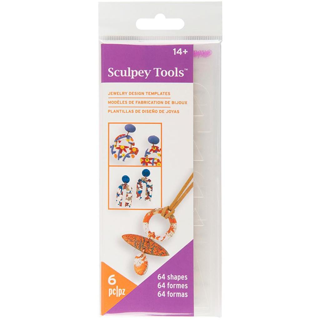 Sculpey Tools Jewelry Design Templates