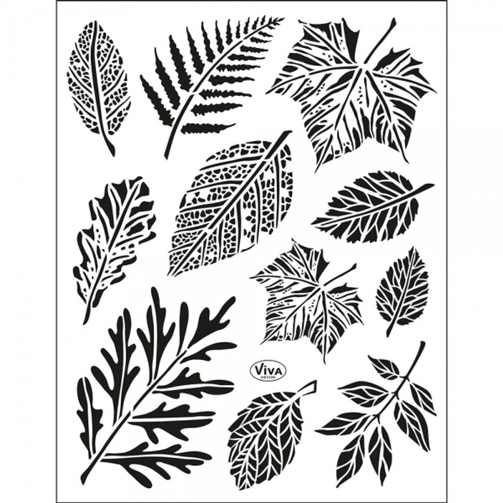 Leaves Clear Stamp Set