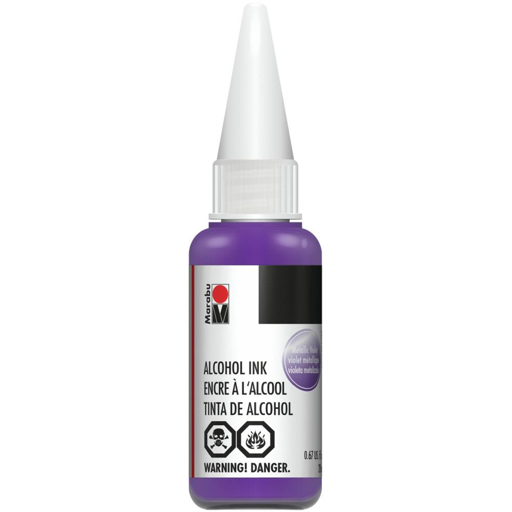 Marabu Alcohol Ink 20ml - Metallic Violet