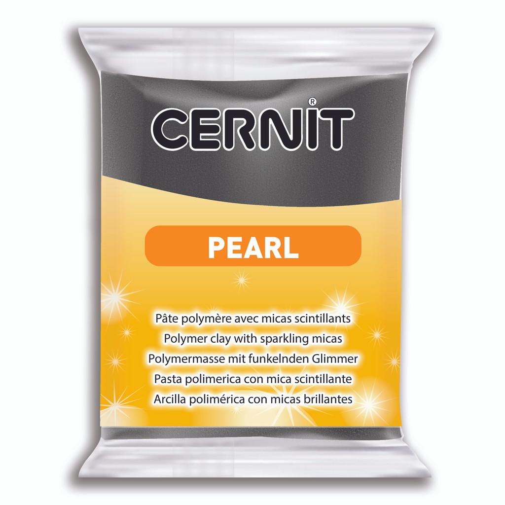 Cernit Pearl - Black