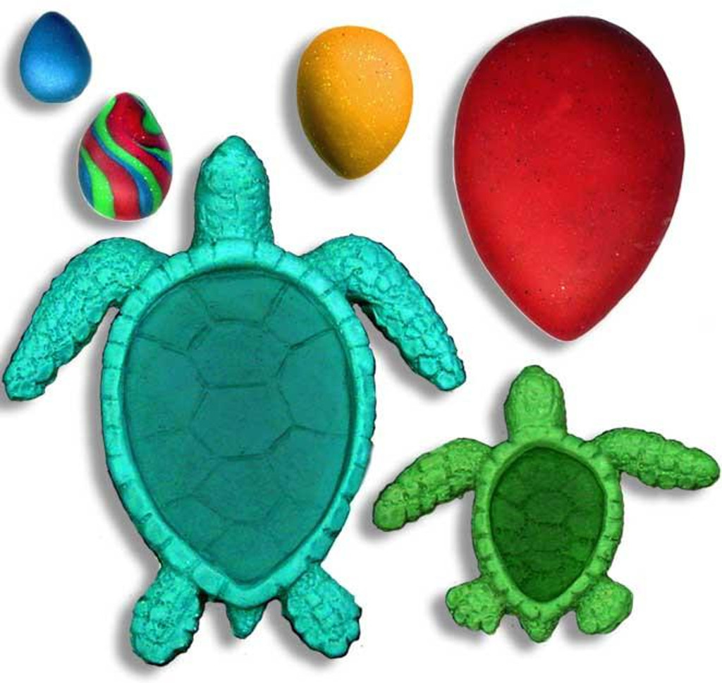 Sea Turtles and Cabochons