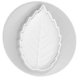 Embossing Cutters - Veined Rose Leaf