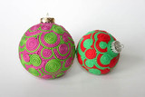 Premo! Extruded Sculpey Doodle Ornaments Tutorial Freebie