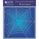 Spider Web 6 x 6 Stencil