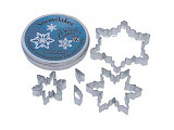 Cutters Snowflake Tin Set