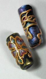 Faux Cloisonne Beads Tutorial