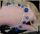 Translucent Clay Blues and True Blue Dangles tutorials