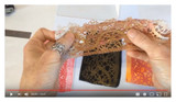 Part 2 Polymer Clay Veneers Using Chalk and Lace Video by Debbie Crothers