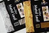 Gold or Silver Metal Leaf Sheets
