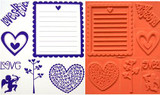 Rubber Stamps - Love
