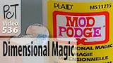 Mod Podge Dimensional Magic Review Video