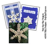 Quilled Clay Snowflakes and Cards Tutorials