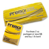 Premo! Sculpey® - Cadmium Yellow Hue