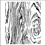 Stencil Wood Grain 6 x 6
