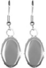 Earrings - Oval