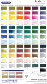 PanPastel Artists Pastels Color Chart