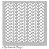 Geometric Grid Stencil 6 x 6