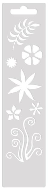 Mini Art Screen Stencil - Floral