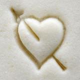 Pierced Heart Stamp