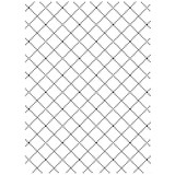 """Wire Fence - Background Embossing Folder 4.25""""X5.75"""""""