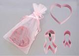 Pink Ribbon 3 pc Cookie Cutter Set