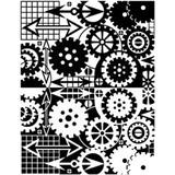Melt Art Texture Treads - Graphic Gears
