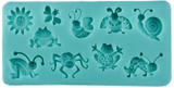 Ladybug Frogs and other mini Critters Mold