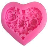 Heart Shaped Flower Mold