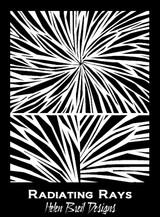Helen Breil Stamps - Radiating Rays