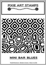 Pixie Art Stamp by Mike Breil - Mini Bar Blues