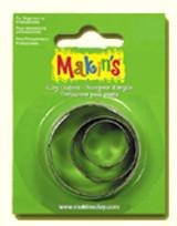 Makin's Clay 3 Piece Cutter Set Round