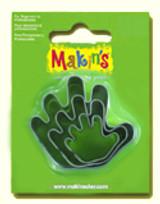 Makin's Clay 3 Piece Cutter Set Hand