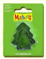 Makin's Clay 3 Piece Cutter Set Tree