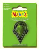 Makin's Clay 3 Piece Cutter Set Ice Cream Cone