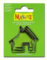 Makin's Clay 3 Piece Cutter Set House