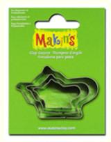 Makin's Clay 3 Piece Cutter Set Teapot
