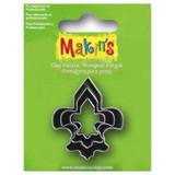 Makin's Clay 3 Piece Cutter Set Fleur De Lis