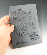 Christi Friesen Texture Stamp Drama Blooms