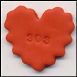 Pardo Jewelry Clay - Orange Calcite
