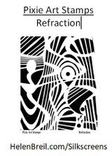 Mike Breil Silk Screen - Refraction