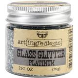 Finnabair Glass Glitter Platinum