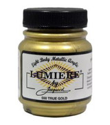 Jacquard Lumiere Metallic Acrylic Paint 2.25oz - True Gold