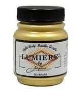 Jacquard Lumiere Metallic Acrylic Paint 2.25oz - Brass
