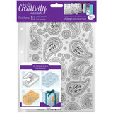 Paisley - Creativity Essentials A5 Clear Background Stamp
