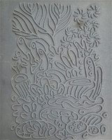 Christi Friesen Texture Stamp Coral Reef